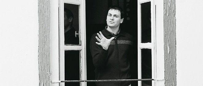 Éric Chevillard chez lui.