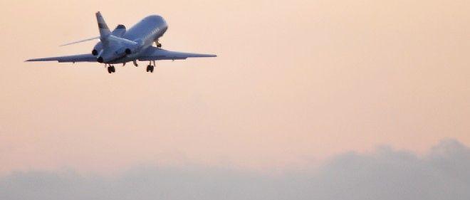 Un avion Falcon, souvent utilisé dans l'aviation d'affaires (illustration).