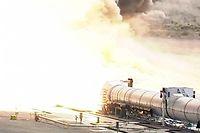Le nouveau booster de la Nasa, qui equipera la fusee SLS. (C)Nasa