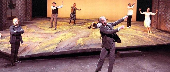 """Filage de la pièce """"Toujours la tempête"""", de  Peter Handke."""