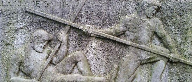 En 1965, pour les 450 ans de la bataille, l'association Pro Marignano a acquis le jardin de l'église de Zivido en concession, y installant une grande plaque de marbre qui figure deux soldats surmontés par l'inscription latine : Claude Salus (de la défaite naît le salut).