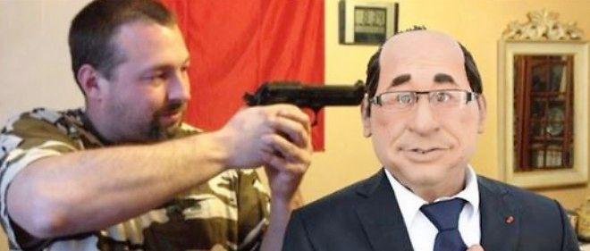 Photomontage posté sur Facebook par un candidat FN.