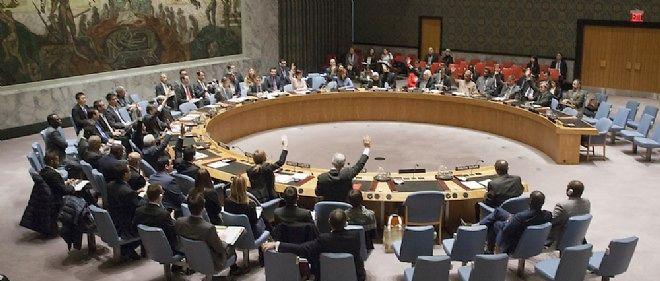 Au Conseil de sécurité de l'ONU (illustration).