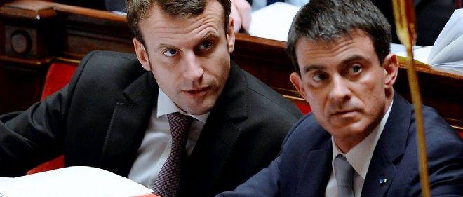 Emmanuel Macron gagne 9 points dans notre Baromètre tandis que Manuel Valls en perd 10.