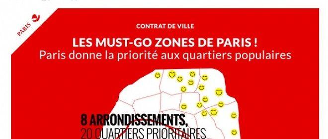 La mairie de Paris présente le nouveau contrat de ville qui redéfinit les zones prioritaires en matière d'aide publique.