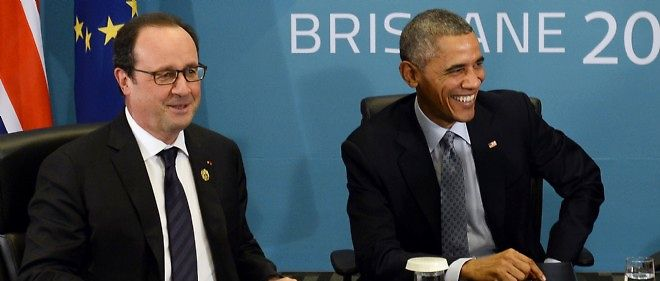 "Hollande et Obama pour un accord ""verifiable"" sur le nucleaire iranien."