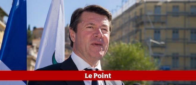 """""""Ce soir, c'est la défaite de Marine Le Pen"""", estime le député-maire de Nice."""