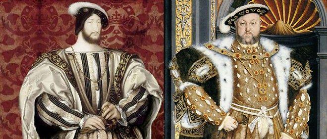 Portrait de François Ier et d'Henri VIII d'Angleterre.