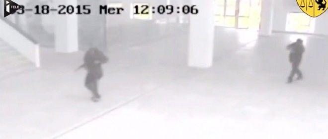 Les autorités tunisiennes ont rendu publique une vidéo où apparaissent les deux assaillants du musée du Bardo à Tunis.