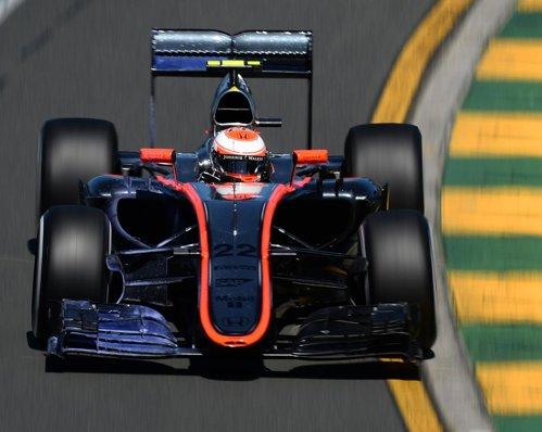 Jenson Button, lors du GP d'Australie. ©  DR