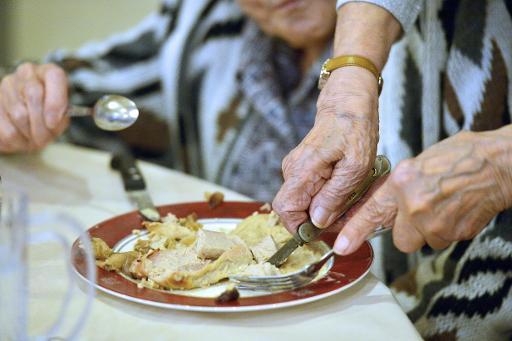 Nombre de seniors en maison de retraite souffrent de dénutrition © Georges Gobet AFP/Archives