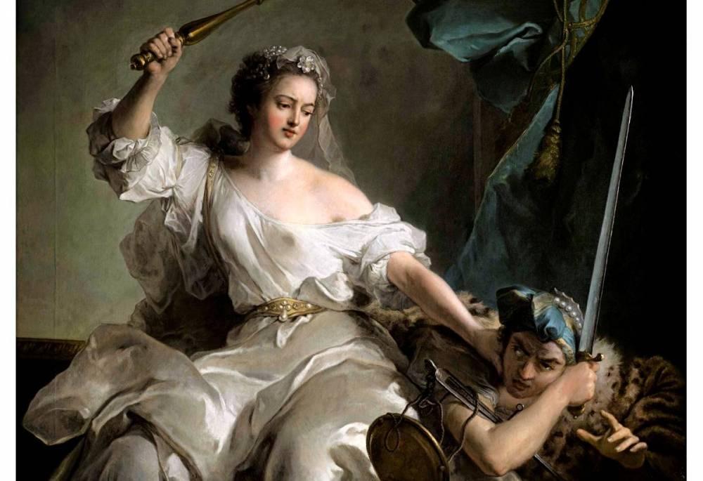 Jean-Marc Nattier, La Justice châtiant l'Injustice, dit Madame Adélaïde sous les traits de la Justice. De 500.000 à 700.000 euros..