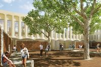 Avec 72000 étudiants, dont 35000 à Aix, l'AMU est la plus grande université francophone. ©DR