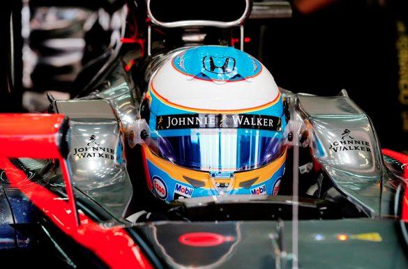 Fernando Alonso ce matin à Sepang. ©  DR