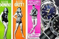 Au poignet de l'agent 007 : toujours une belle montre, mais pas toujours la même.
