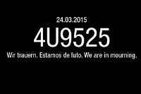 "Le mur Facebook de la Germanwings : ""Nous sommes en deuil""."