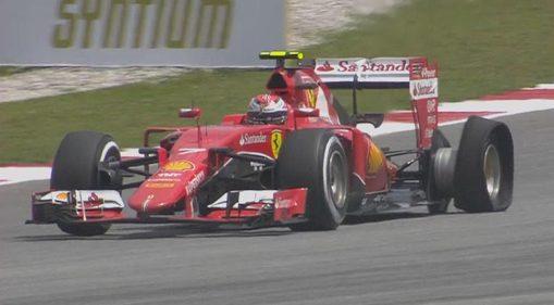 Kimi Raikkonen, lors de e GP de Malaisie. ©  DR