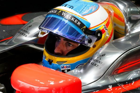 Alonso, ce week-end. ©  DR