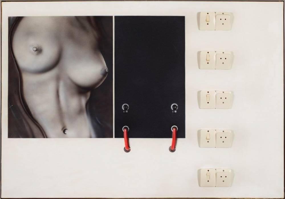 Klasen, Nus + interrupteurs combinés, 1969. De 40 000 à 60 000 euros