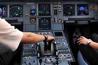 L'acces au cockpit pourrait demain etre biometrique. (C)Adek Berry/AFP