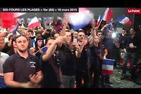 La jeunesse du FN à Six-Fours dans le Var ©Capture d'écran