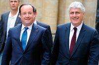 Philippe Martin est l'une des rares satisfactions socialistes pour ces départementales. ©PASCAL PAVANI