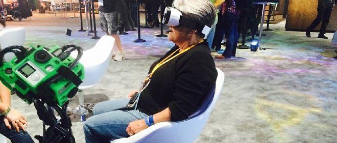 Les lunettes Oculus Rift en démonstration. Le marché de la réalité augmentée pourrait représenter 5 milliards de dollars en 2018.