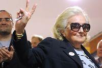 Bernadette Chirac se présentait comme suppléante à Brive. ©Mehdi Fedouach/AFP