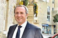 Frédéric Soulier, maire de Brives, se félicite de la victoire, hautement symbolique, de l'UMP en Corrèze.