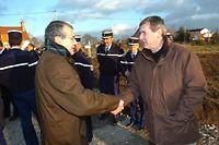L'UMP Gérard Bériot (à gauche sur la photo) a fait mieux que le communiste Jean-Paul Dufrègne. ©BIGARD / LA MONTAGNE / MAXPPP
