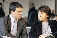 Les fiefs de Martine Aubry et de Manuel Valls ont basculé à droite. ©Patrick Kovarik