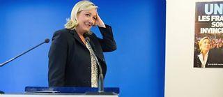 Après les départementales, Marine Le Pen, la patronne du FN, se met en orbite pour les élections régionales de décembre.