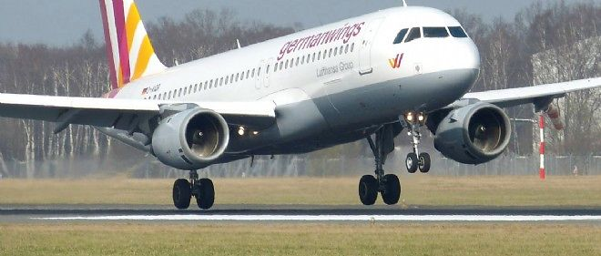Un A320 de Germanwings.