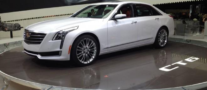 La Cadillac CT6 qui devrait arriver en Europe pour l'été 2016 entend dépasser les références allemandes de son segment sur le plan du plaisir de conduite.