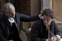Elio Germano joue le jeune Leopardi dans un film de  Mario Martone. ©Paname distribution