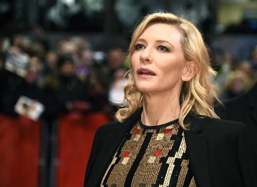 Cate Blanchett au Festival de Berlin, le 13 février 2015 © Odd Andersen AFP/Archives