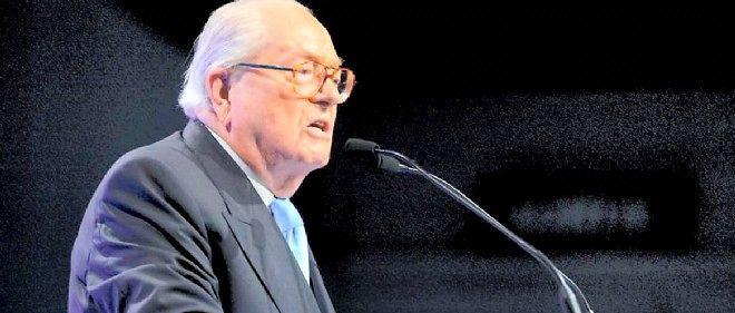 Jean-Marie Le Pen le 20 mai 2014 à Marseille.