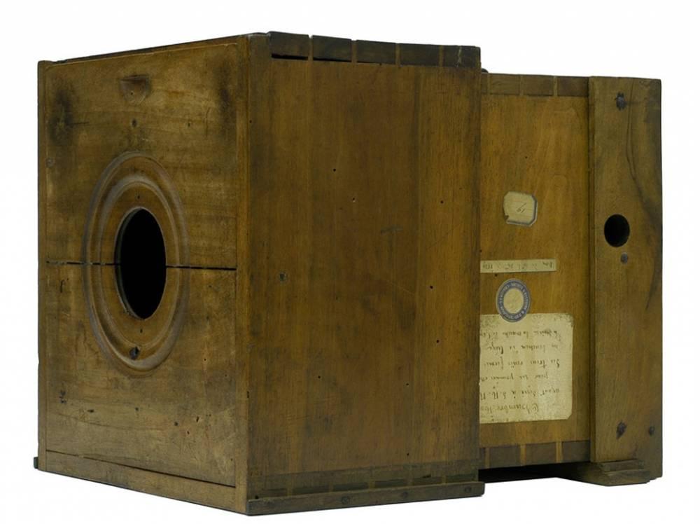 Chambre noire de Niépce dans les années 1820 ©  Musée Nicéphore Niépce
