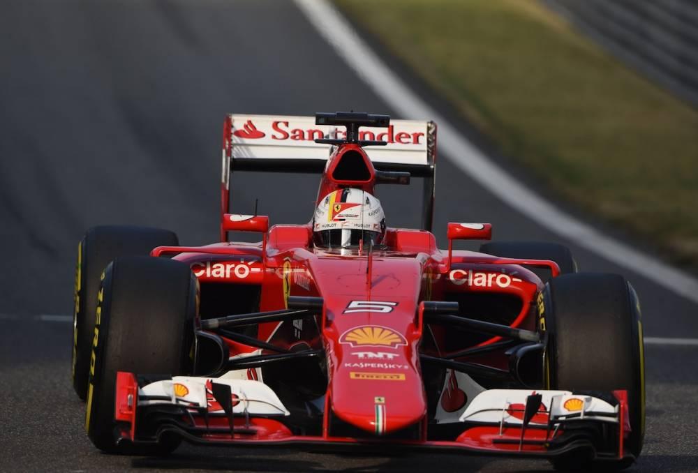 Sebastian Vettel. ©  GREG BAKER / AFP