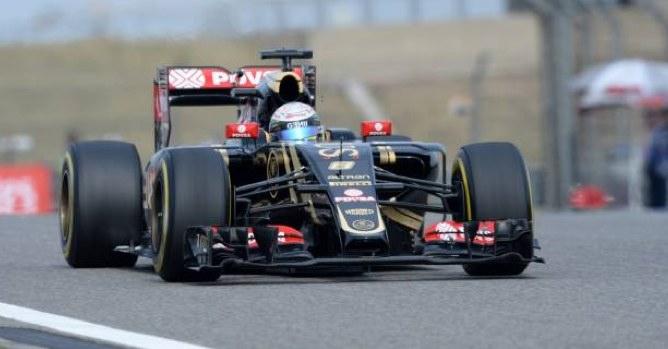 Romain Grosjean, ce week-end en Chine. ©  DR