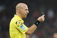 Monsieur Varela, arbitre du match opposant le FC Bordeaux à l'Olympique de Marseille. ©Le Point