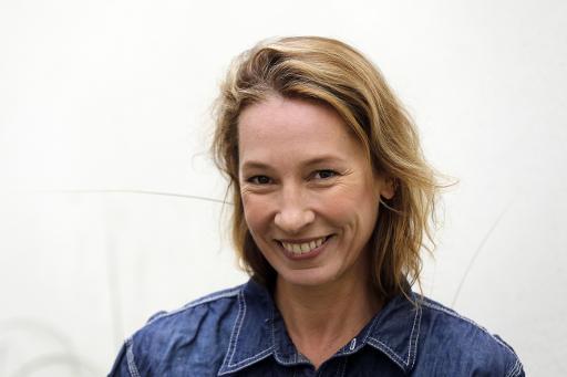 La réalisatrice Emmanuelle Bercot, le 11 septembre 2013 à Paris © FRANCOIS GUILLOT AFP/Archives
