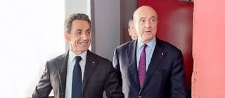 Nicolas Sarjkozy et Alain Juppé, candidats à la primaire de l'UMP. ©VALENTE-DALIPHARD/EPP