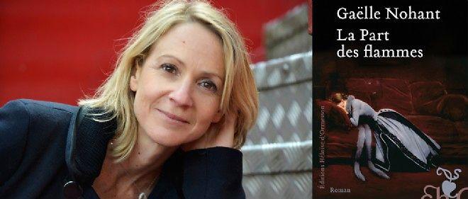 """Gaëlle Nohant, auteur de """"La Part des flammes"""", le roman que s'arrache l'édition (éd. Héloïse d'Ormesson)."""