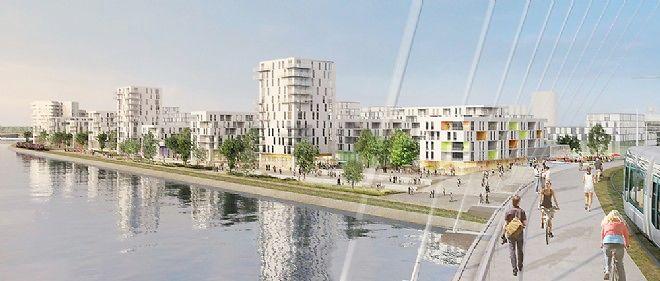D'ici 2019, l'aménagement du secteur des rives du Rhin permettra d'offrir une nouvelle entrée sur la ville.