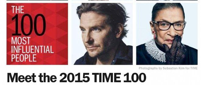 """Le classement du """"Time"""" fait toujours événement."""