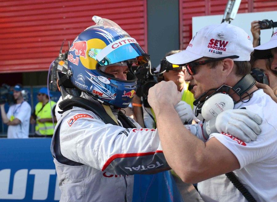 Sébastien Loeb à Rio Hondo (Argentine) ©  DR