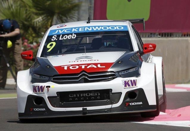 Sébastien Loeb, à Marrakech. ©  WTCC