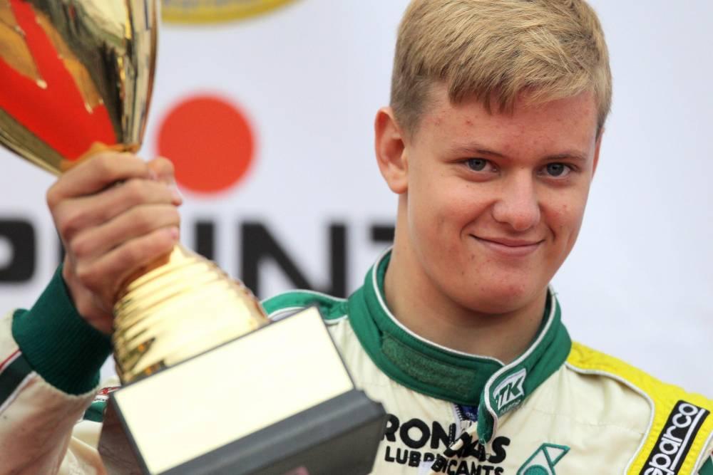 Mick Schumacher, fils de Michael, a déjà tâté du karting, avec succès ©  DR