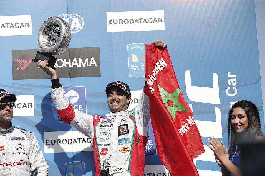 Mehdi Bennani, meilleur pilote privé de la 1ère course. ©  DR